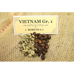 Káva VIETNAM Scr. 18, robusta