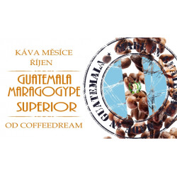 Káva GUATEMALA MARAGOGYPE SUPERIOR