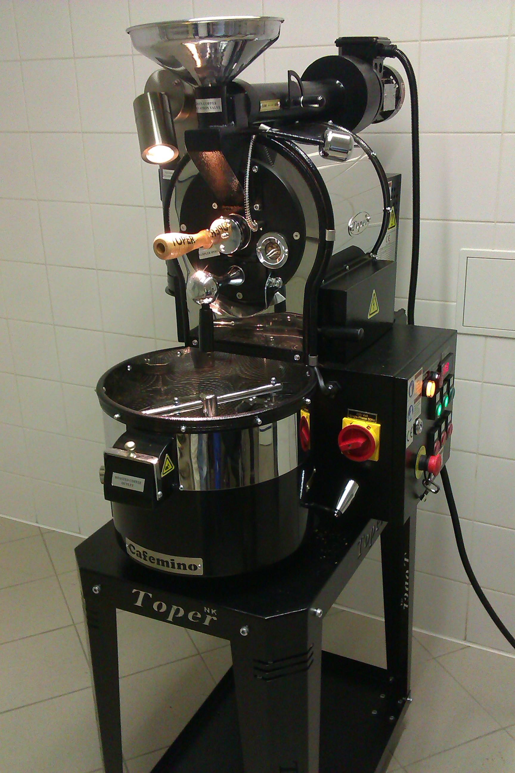 první pražička kávy